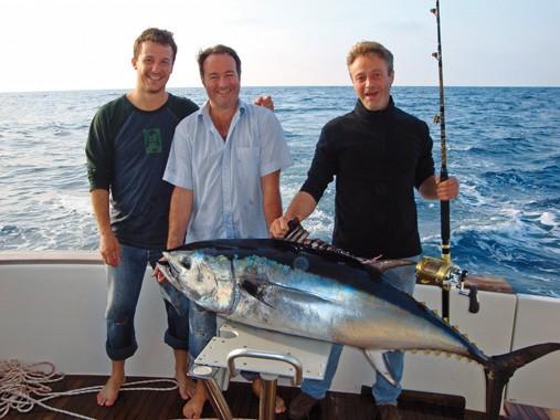 Toutes les pêches sportives des thonidés avec OTF, traîne, leurres sur chasse, Jigging